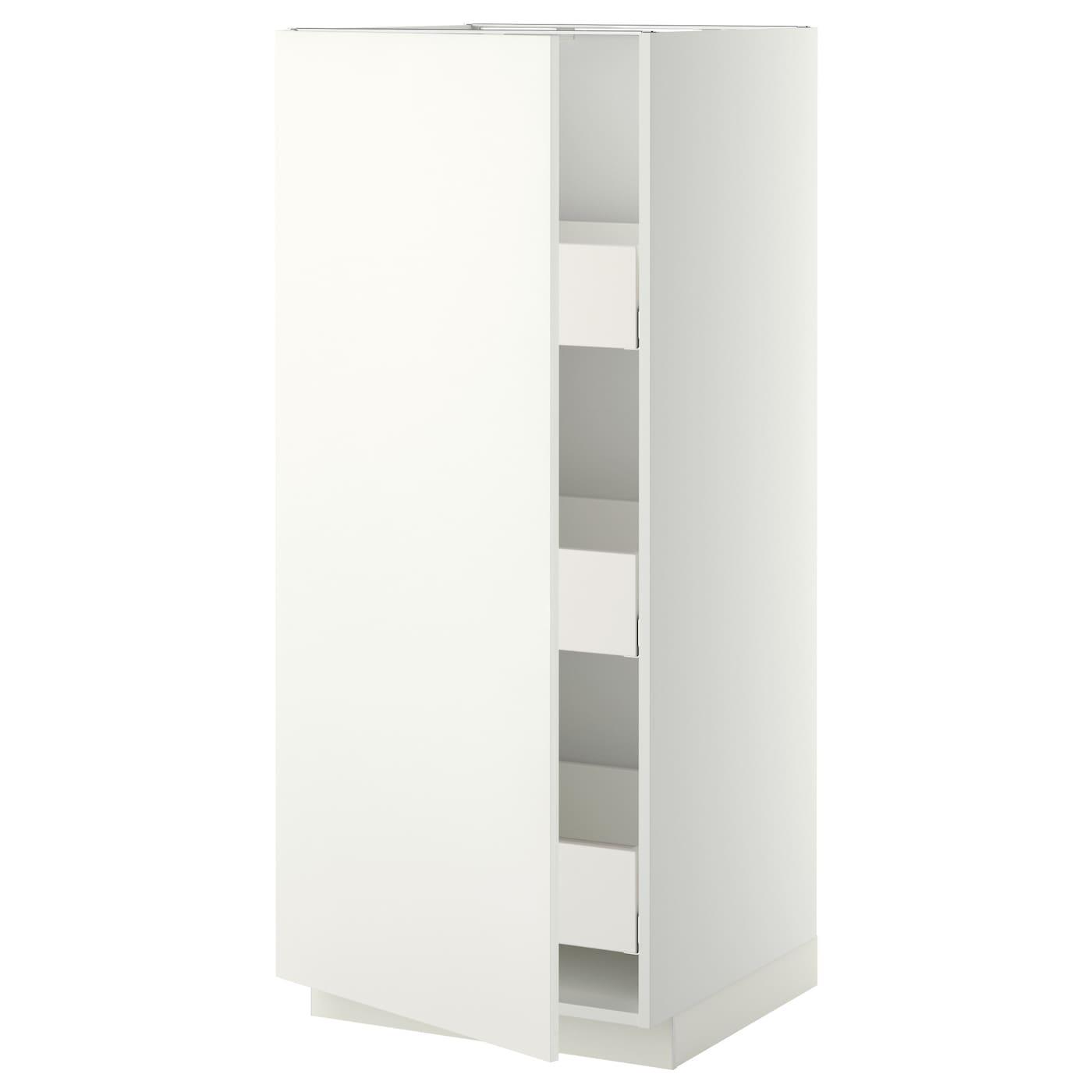 metod maximera l ment armoire avec tiroirs blanc h ggeby blanc 60x60x140 cm ikea. Black Bedroom Furniture Sets. Home Design Ideas