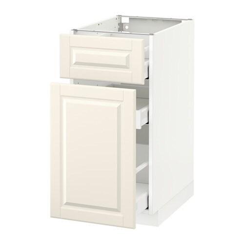 metod maximera l ment bas rangement coul tiroir blanc bodbyn blanc cass 40x60 cm ikea. Black Bedroom Furniture Sets. Home Design Ideas