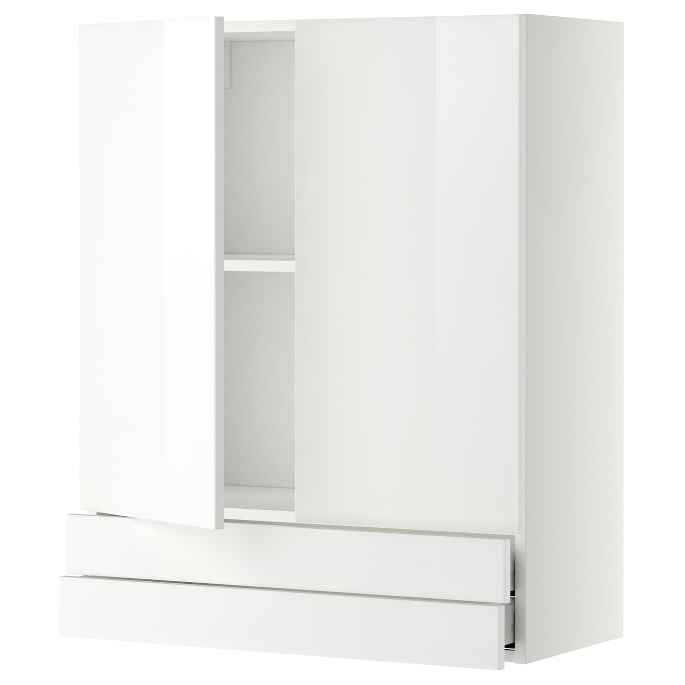 metod maximera l ment mural 2portes 2tiroirs blanc ringhult blanc 80x100 cm ikea. Black Bedroom Furniture Sets. Home Design Ideas