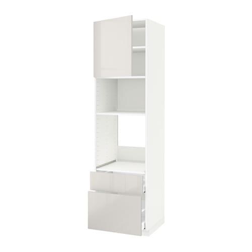 metod maximera arm four micro pte 2tir blanc ringhult brillant gris clair 60x60x220 cm ikea. Black Bedroom Furniture Sets. Home Design Ideas