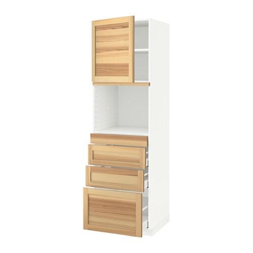 metod maximera armoire micro ondes av porte 4 tir blanc. Black Bedroom Furniture Sets. Home Design Ideas