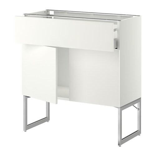 metod maximera l bas tablette tiroir 2portes blanc 80x37x60 cm h ggeby blanc ikea. Black Bedroom Furniture Sets. Home Design Ideas