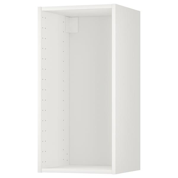 METOD Structure élément mural, blanc, 40x37x80 cm