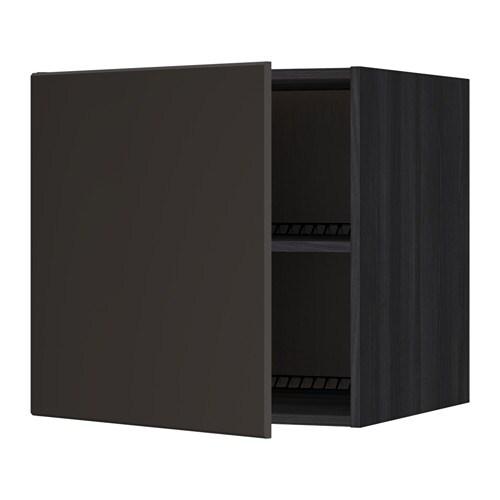 metod surmeuble r frig rateur cong lateur noir kungsbacka anthracite 60x60 cm ikea. Black Bedroom Furniture Sets. Home Design Ideas