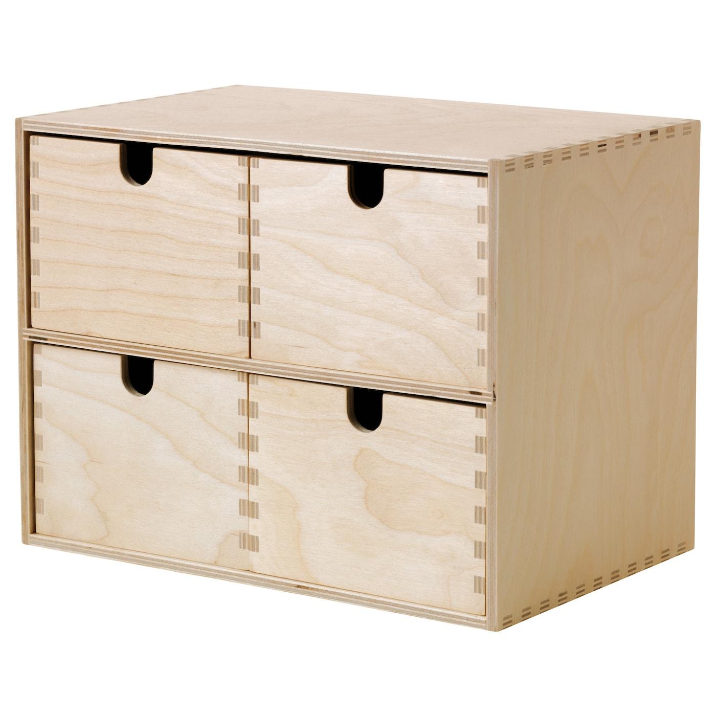 moppe mini commode contreplaqu de bouleau 29x18x22 cm ikea. Black Bedroom Furniture Sets. Home Design Ideas