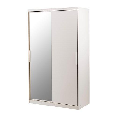 Schreibtisch Ikea Mit Aufsatz ~ MORVIK Armoire penderie Les portes coulissantes nécessitent moins d
