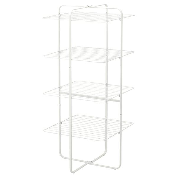 MULIG Séchoir 4 niveaux, int/ext, blanc