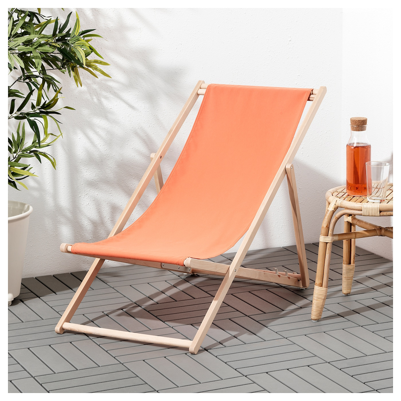 mysings chaise de plage orange p le ikea. Black Bedroom Furniture Sets. Home Design Ideas