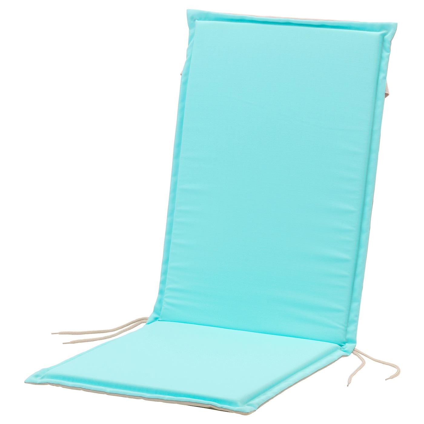 n st n coussin plat assise dossier ext turquoise beige 116x47 cm ikea. Black Bedroom Furniture Sets. Home Design Ideas