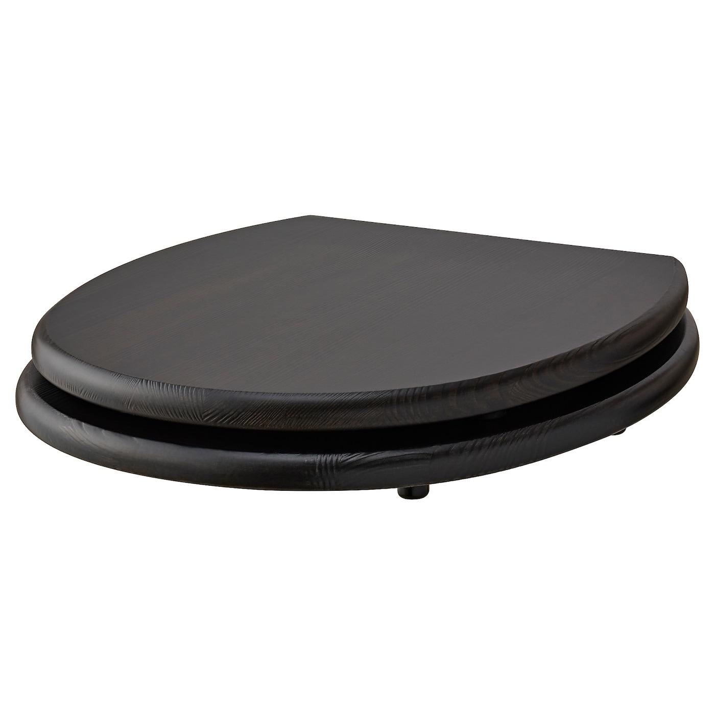 N mmen abattant wc brun noir ikea - Abattant wc taille non standard ...