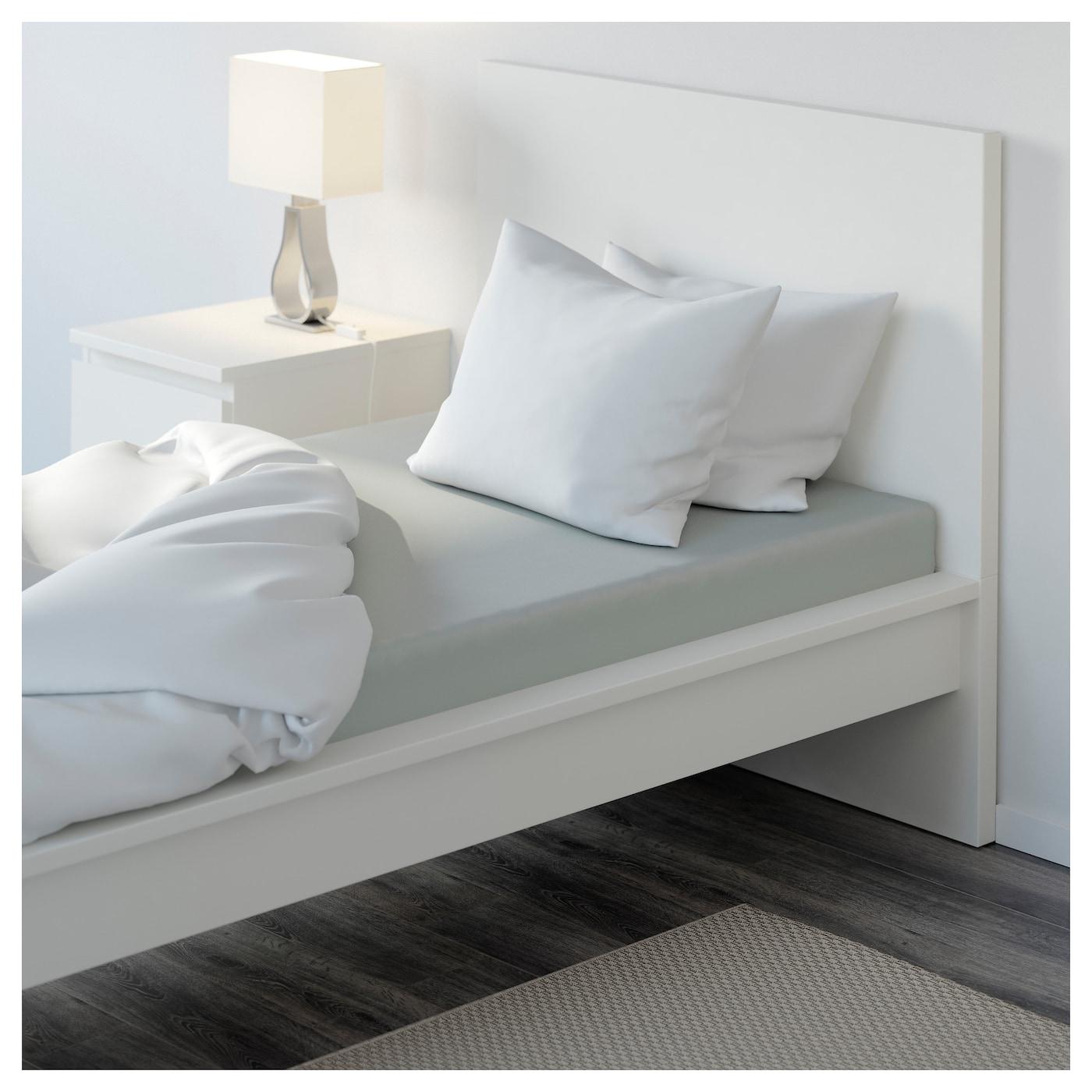 nattjasmin drap housse gris clair 90 x 200 cm ikea. Black Bedroom Furniture Sets. Home Design Ideas