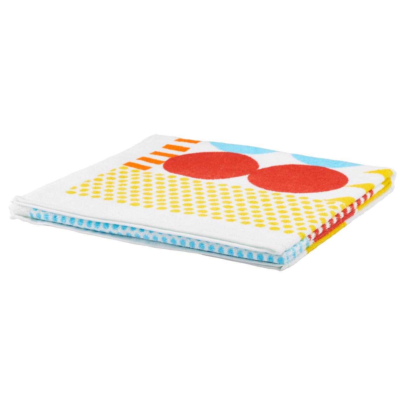 nimmern serviette multicolore 50x100 cm ikea. Black Bedroom Furniture Sets. Home Design Ideas