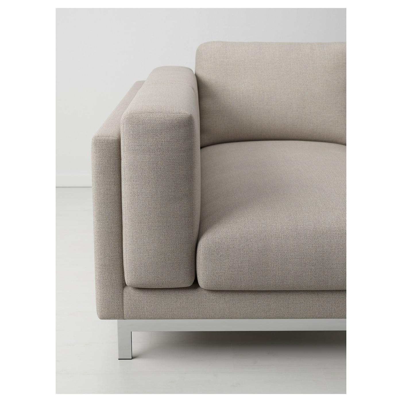nockeby pieds pour canap 3 pl avec m ridienne chrom ikea. Black Bedroom Furniture Sets. Home Design Ideas