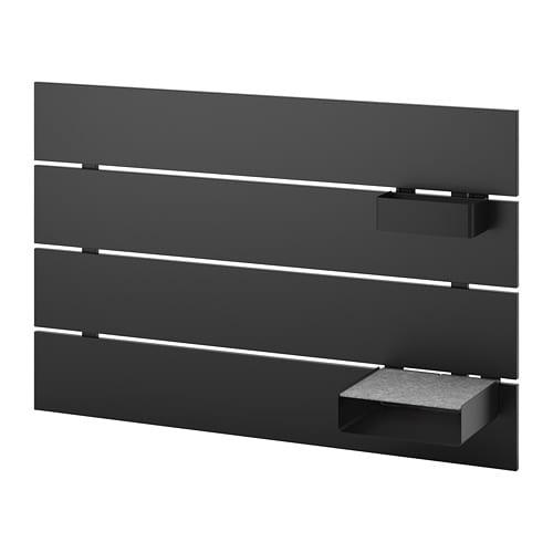 Nordli Tete De Lit Anthracite 90 Cm Ikea