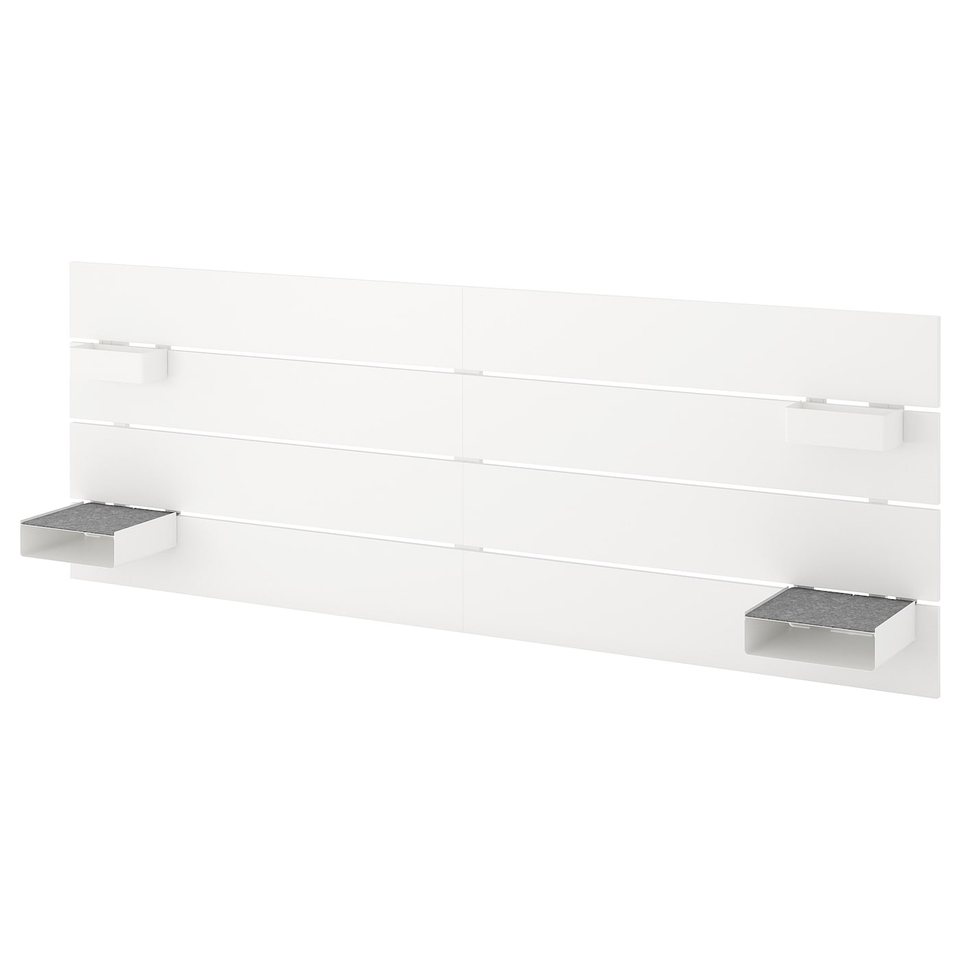 nordli t te de lit blanc 180 193 cm ikea. Black Bedroom Furniture Sets. Home Design Ideas