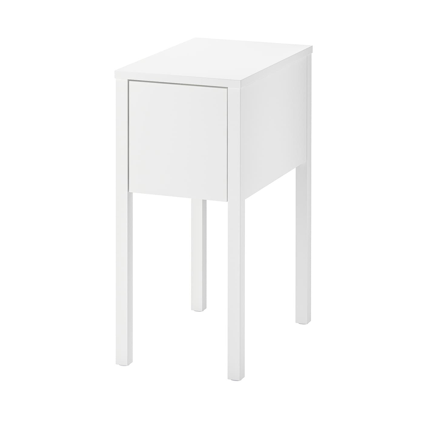 Nordli Table De Chevet Blanc 30 X 50 Cm Ikea