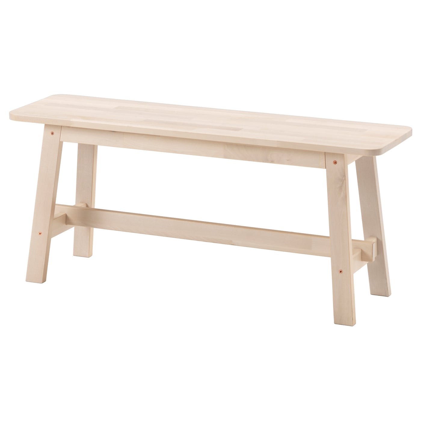 Norr Ker Table Blanc Bouleau 125×74 Cm Ikea # Banc De Table Blanc