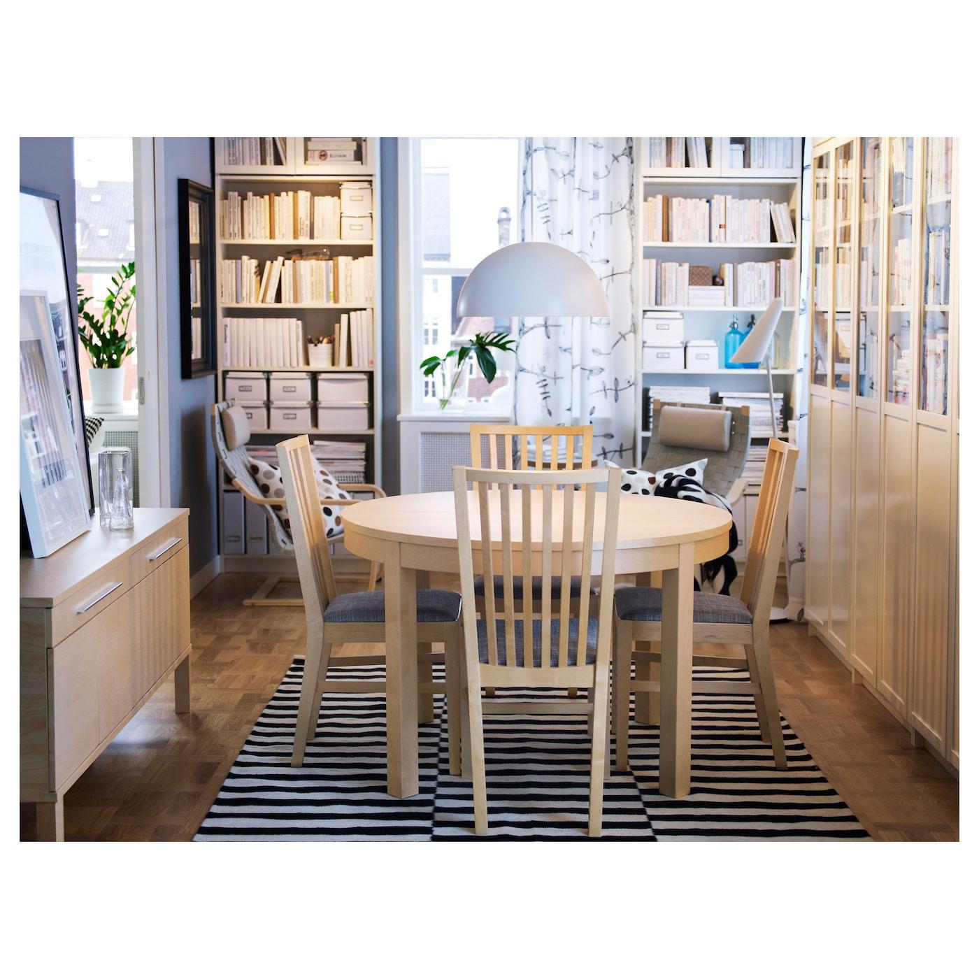 norrn s chaise bouleau isunda gris ikea. Black Bedroom Furniture Sets. Home Design Ideas