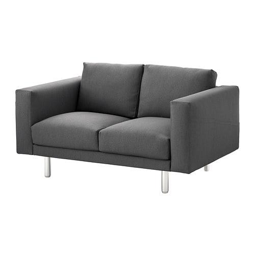 norsborg canap 2 places finnsta gris fonc m tal ikea. Black Bedroom Furniture Sets. Home Design Ideas