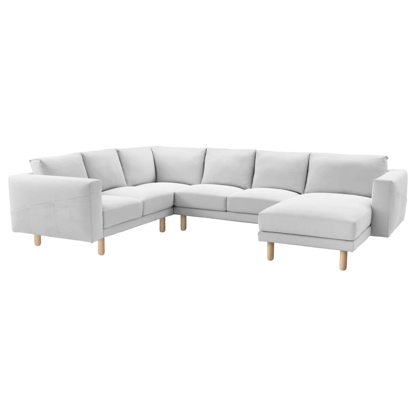 norsborg housse canap d 39 angle 5 places avec m ridienne. Black Bedroom Furniture Sets. Home Design Ideas