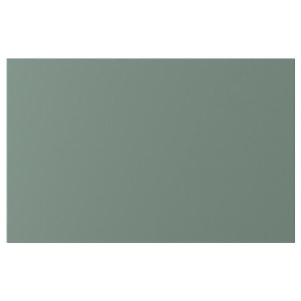 NOTVIKEN Porte/face de tiroir, gris vert, 60x38 cm
