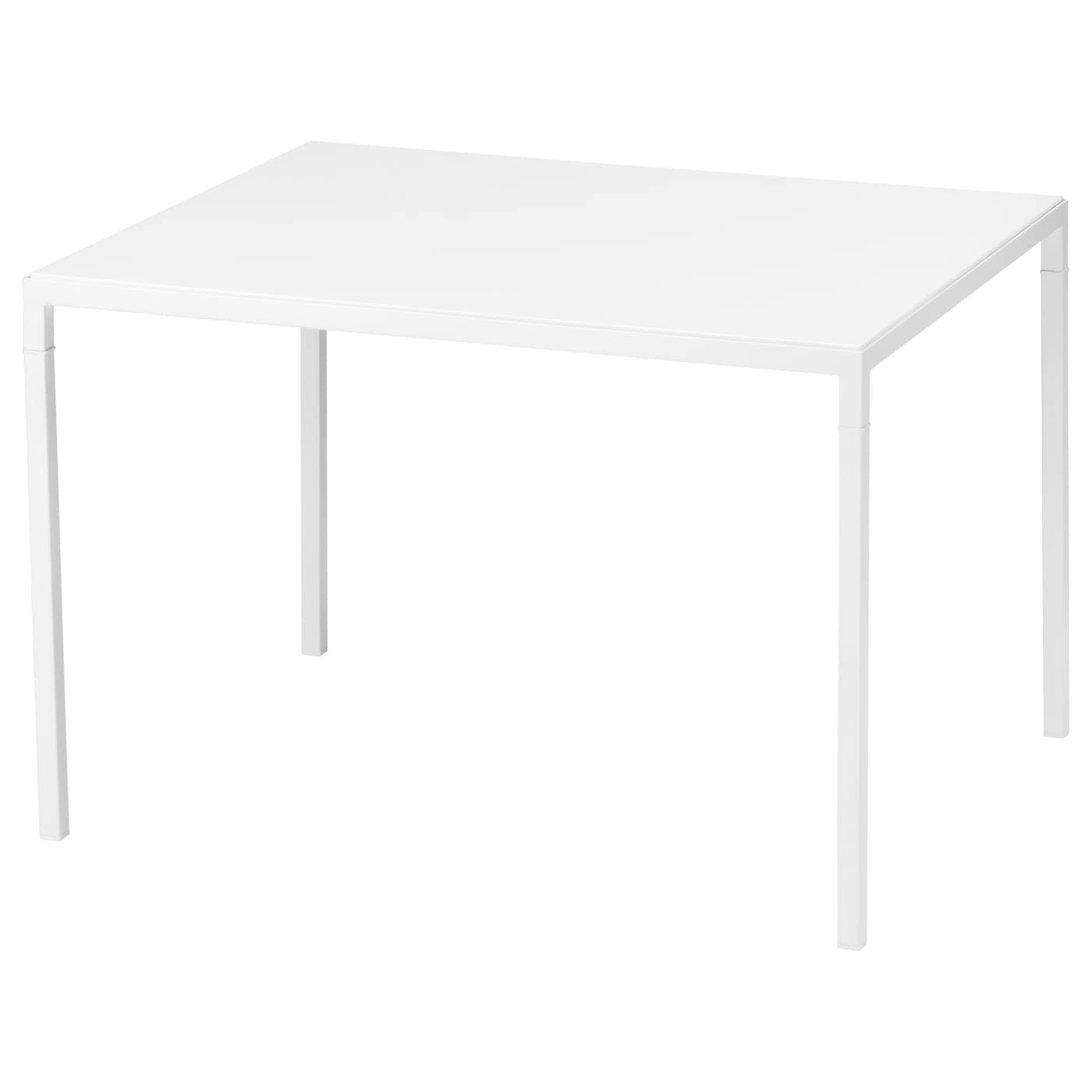 nyboda table basse avec plateau r versible blanc gris 75x60x50 cm ikea. Black Bedroom Furniture Sets. Home Design Ideas