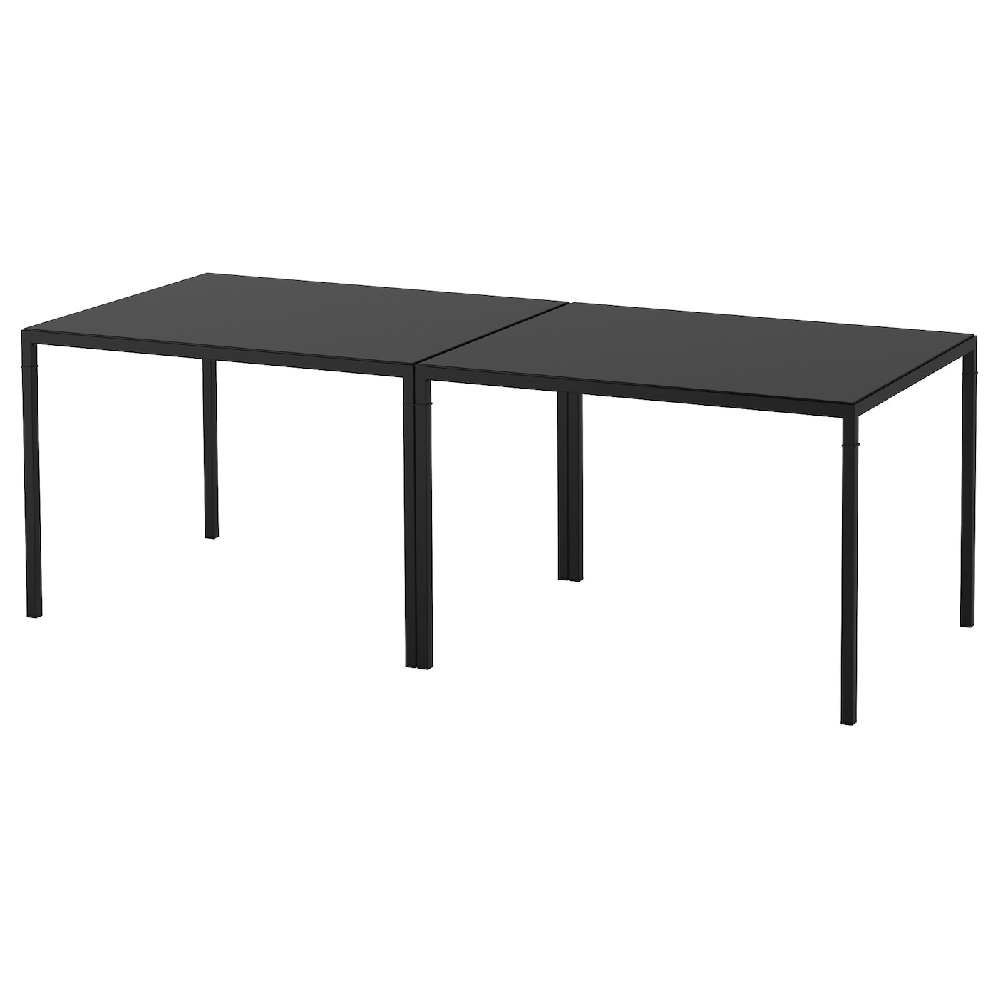 nyboda table basse avec plateau r versible noir beige. Black Bedroom Furniture Sets. Home Design Ideas