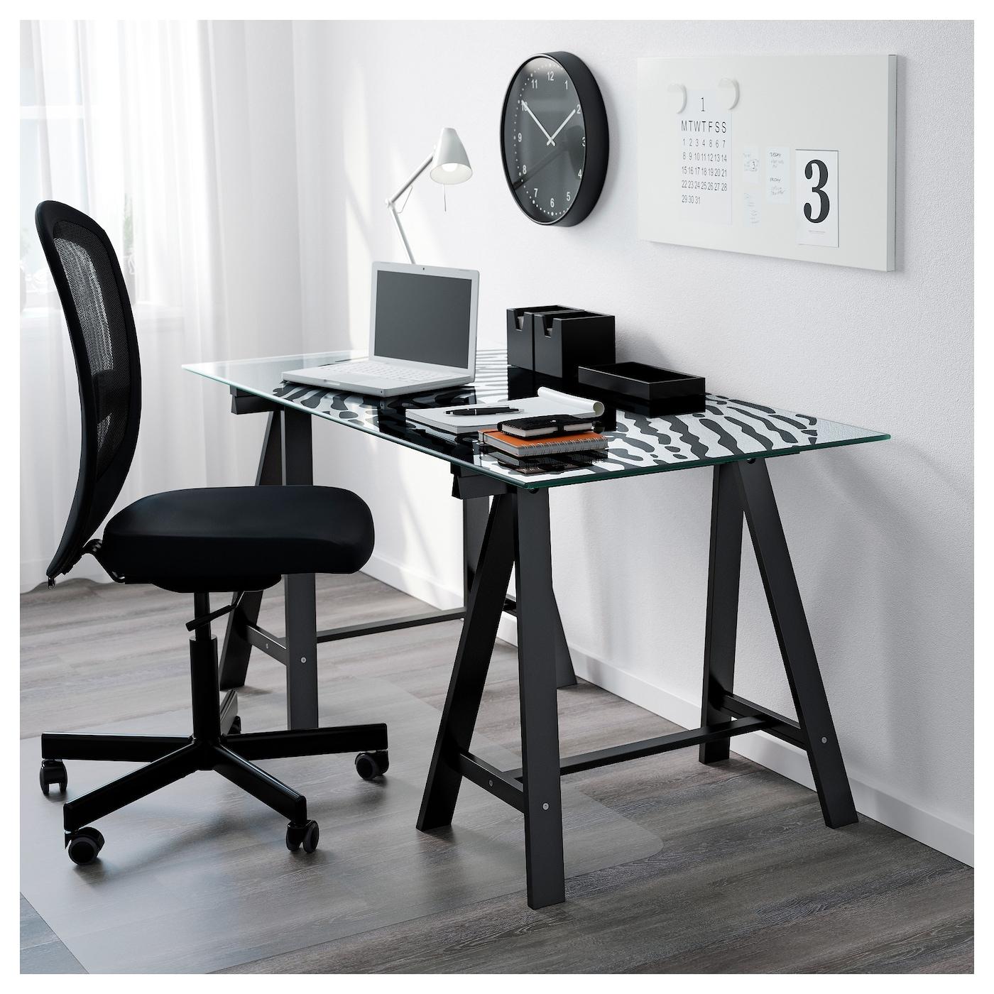 oddvald tr teau noir 70 x 70 cm ikea. Black Bedroom Furniture Sets. Home Design Ideas