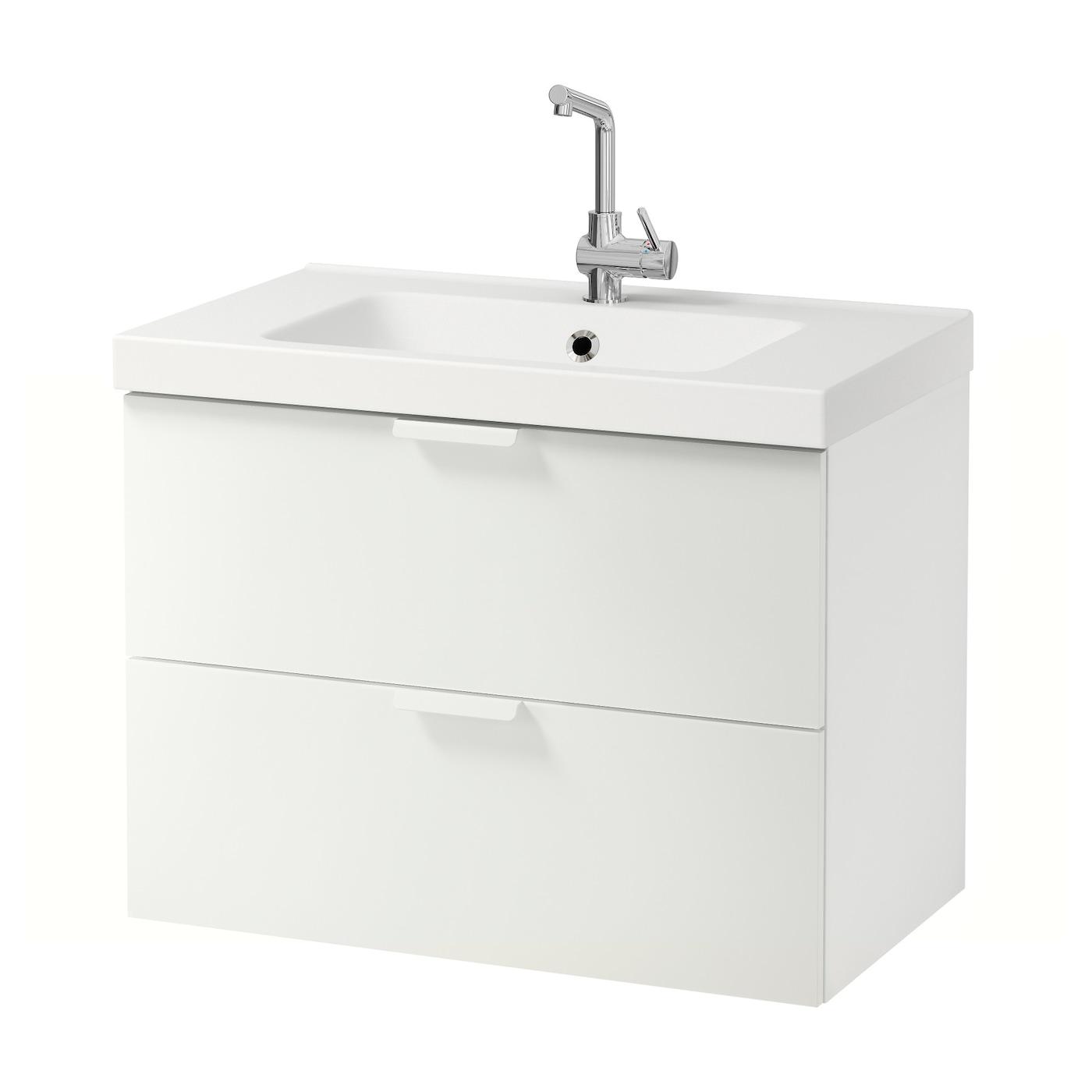 IKEA ODENSVIK/GODMORGON Meuble Lavabo 2tir