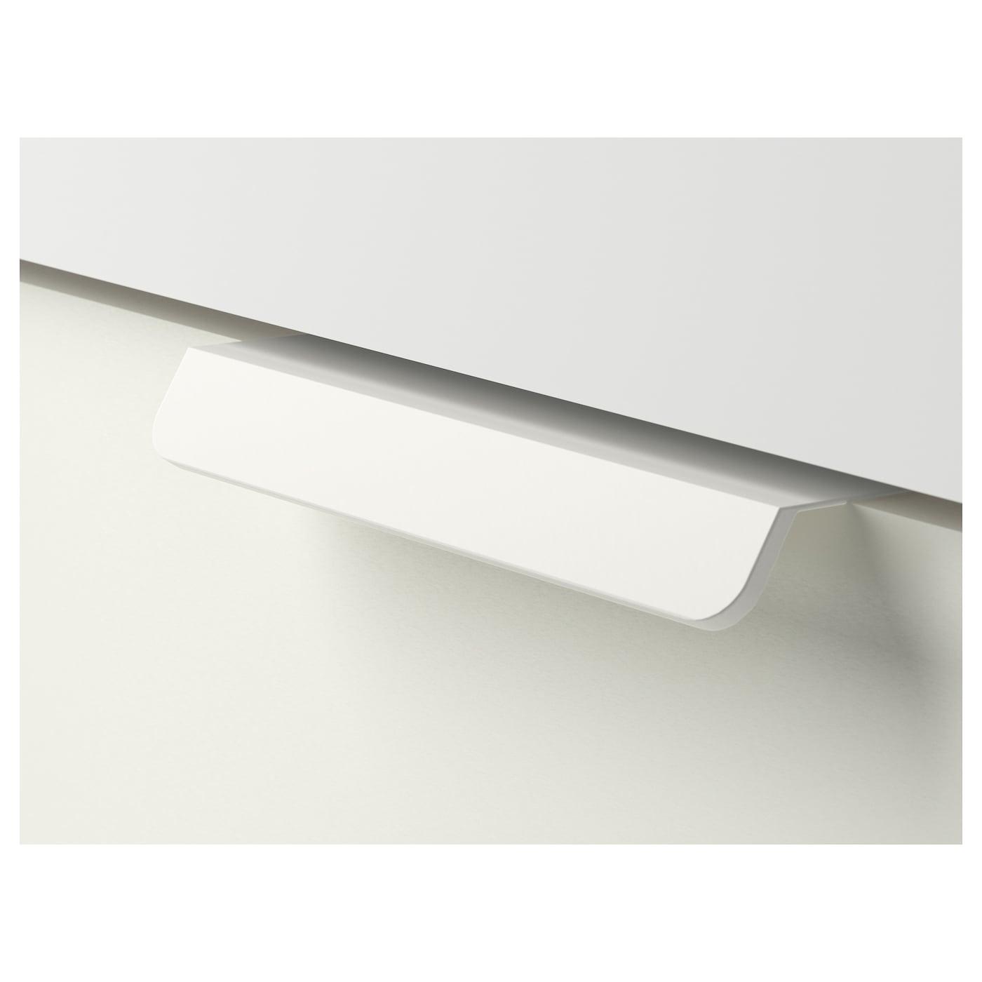 Odensvik godmorgon meuble lavabo 4tir blanc 140x49x64 cm for Meuble lavabo blanc