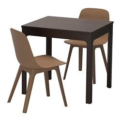IKEA ODGER EKEDALEN Table Et 2 Chaises Peut Etre Agrandie Par Une Personne Seule