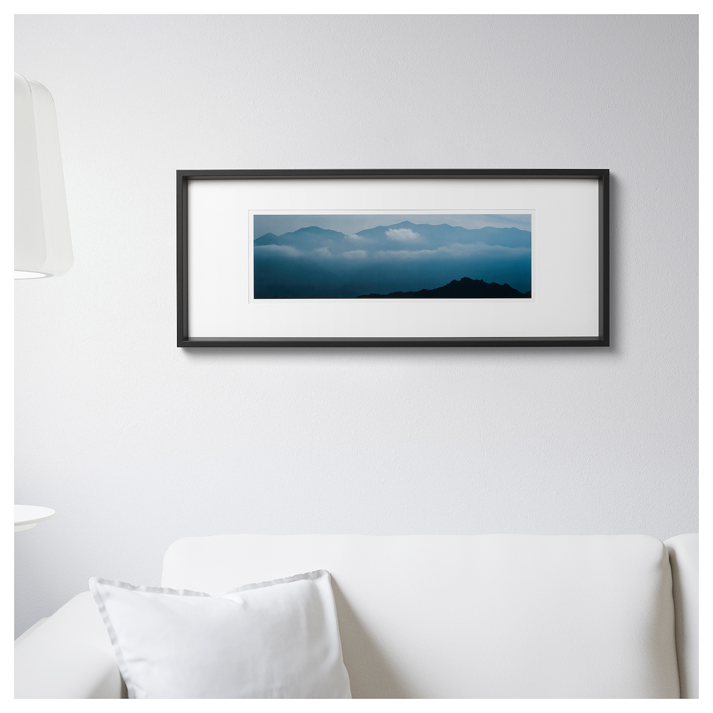 olunda tableau vue sur les montagnes 94x38 5 cm ikea. Black Bedroom Furniture Sets. Home Design Ideas