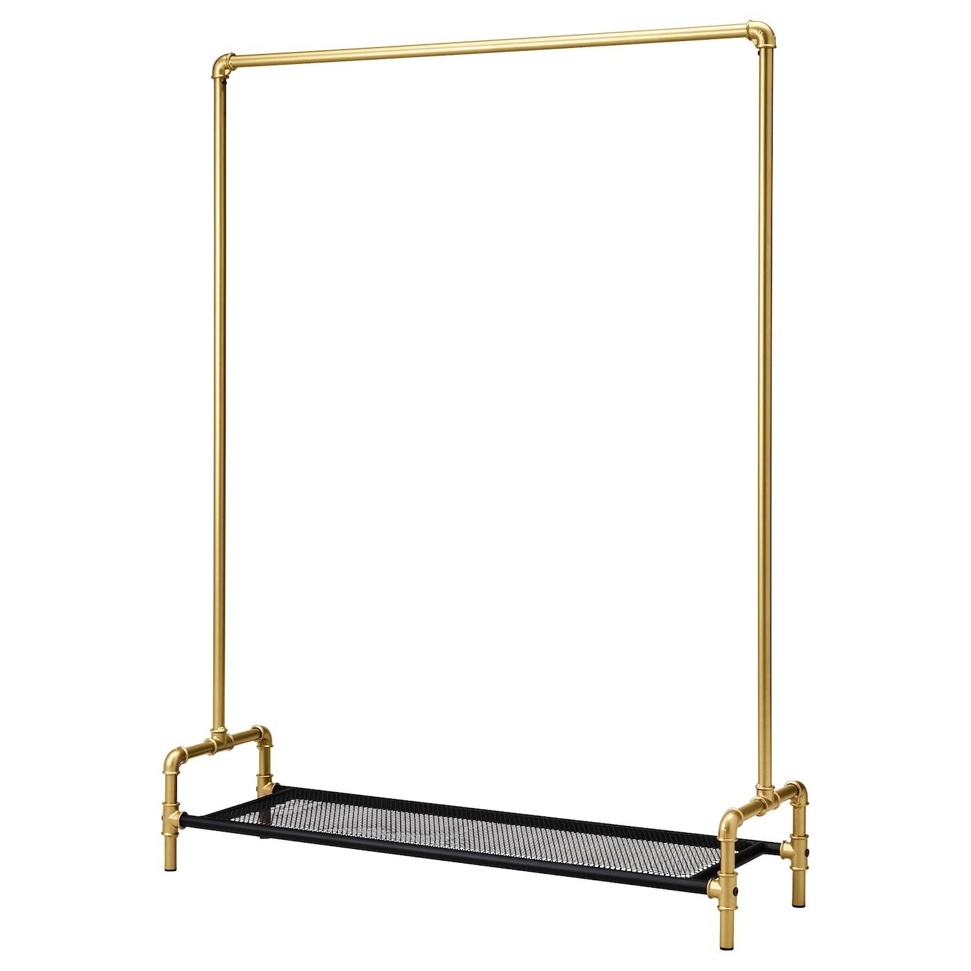 OMEDELBAR Portant Noircouleur Or X Cm IKEA - Portant