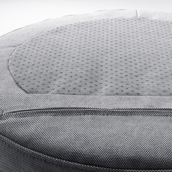 OMTÄNKSAM coussin de chaise Orrsta gris clair 38 cm 7.0 cm 339 g 525 g