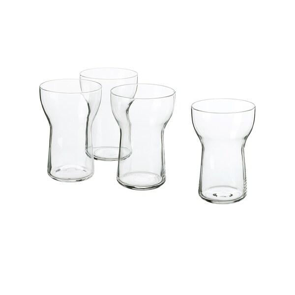 OMTÄNKSAM verre verre transparent 13 cm 35 cl 4 pièces