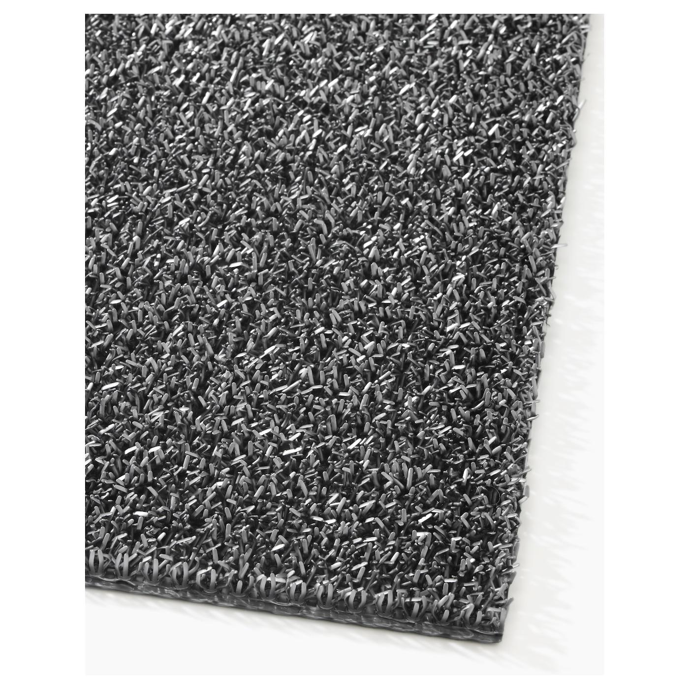 oplev paillasson int rieur ext rieur gris 50 x 80 cm ikea. Black Bedroom Furniture Sets. Home Design Ideas