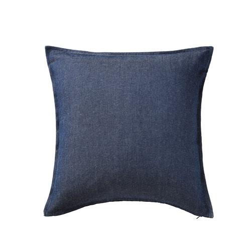 ormkaktus housse de coussin bleu moyen 50x50 cm ikea. Black Bedroom Furniture Sets. Home Design Ideas