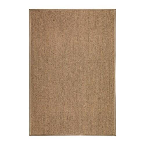 osted tapis tiss plat cru 133x195 cm ikea. Black Bedroom Furniture Sets. Home Design Ideas