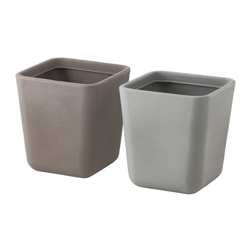 Stlig cache pot ikea for Decoratives from waste