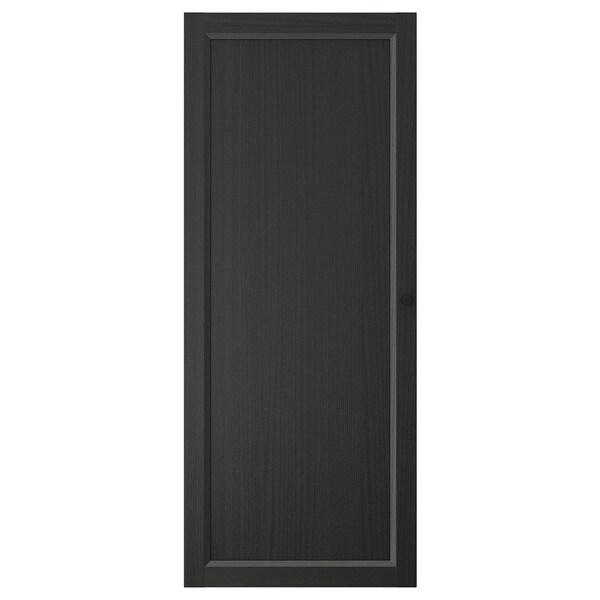 OXBERG Porte, brun noir, 40x97 cm