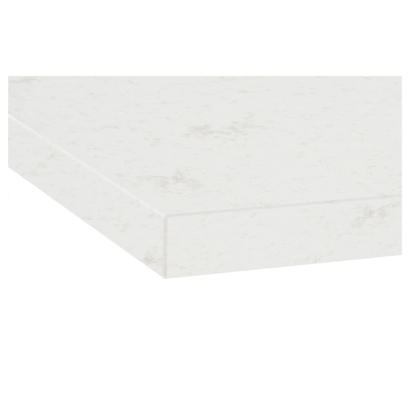 oxsten plan de travail sur mesure blanc marbr quartz 10. Black Bedroom Furniture Sets. Home Design Ideas