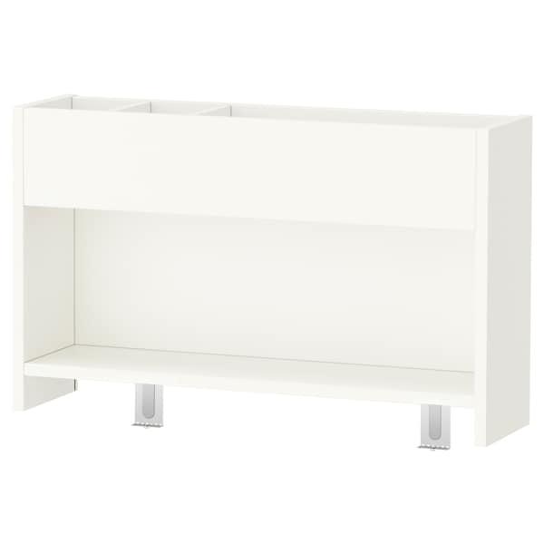 PÅHL bureau avec élément complémentaire blanc/rose 96 cm 58 cm 98 cm 111 cm 50 kg