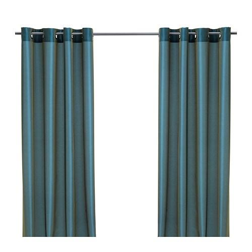 p rlbuske rideaux 1 paire ikea. Black Bedroom Furniture Sets. Home Design Ideas