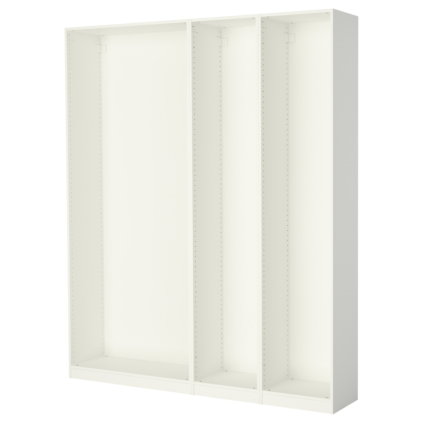 pax 3 caissons armoire blanc 200 x 35 x 236 cm ikea. Black Bedroom Furniture Sets. Home Design Ideas