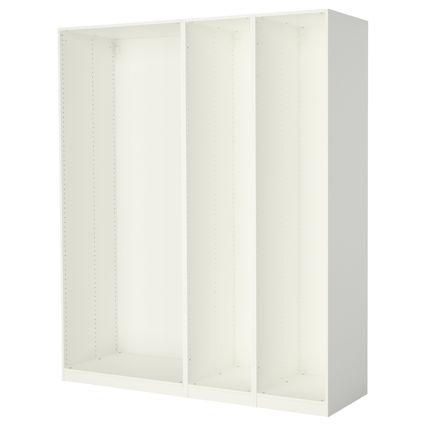 pax 3 caissons armoire blanc 200 x 58 x 236 cm ikea. Black Bedroom Furniture Sets. Home Design Ideas