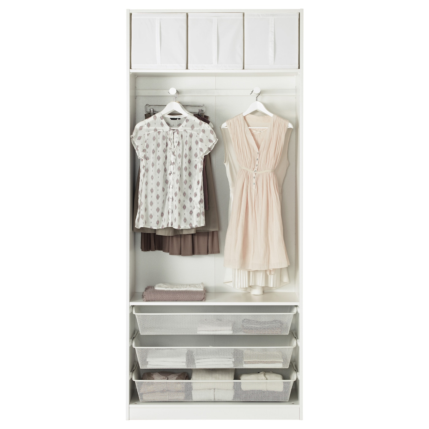 pax armoire penderie blanc bergsbo blanc 100x38x236 cm ikea. Black Bedroom Furniture Sets. Home Design Ideas