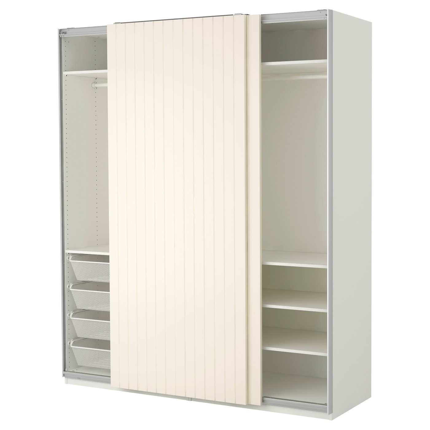 pax armoire penderie blanc bergsfjord blanc 200x66x236 cm ikea. Black Bedroom Furniture Sets. Home Design Ideas
