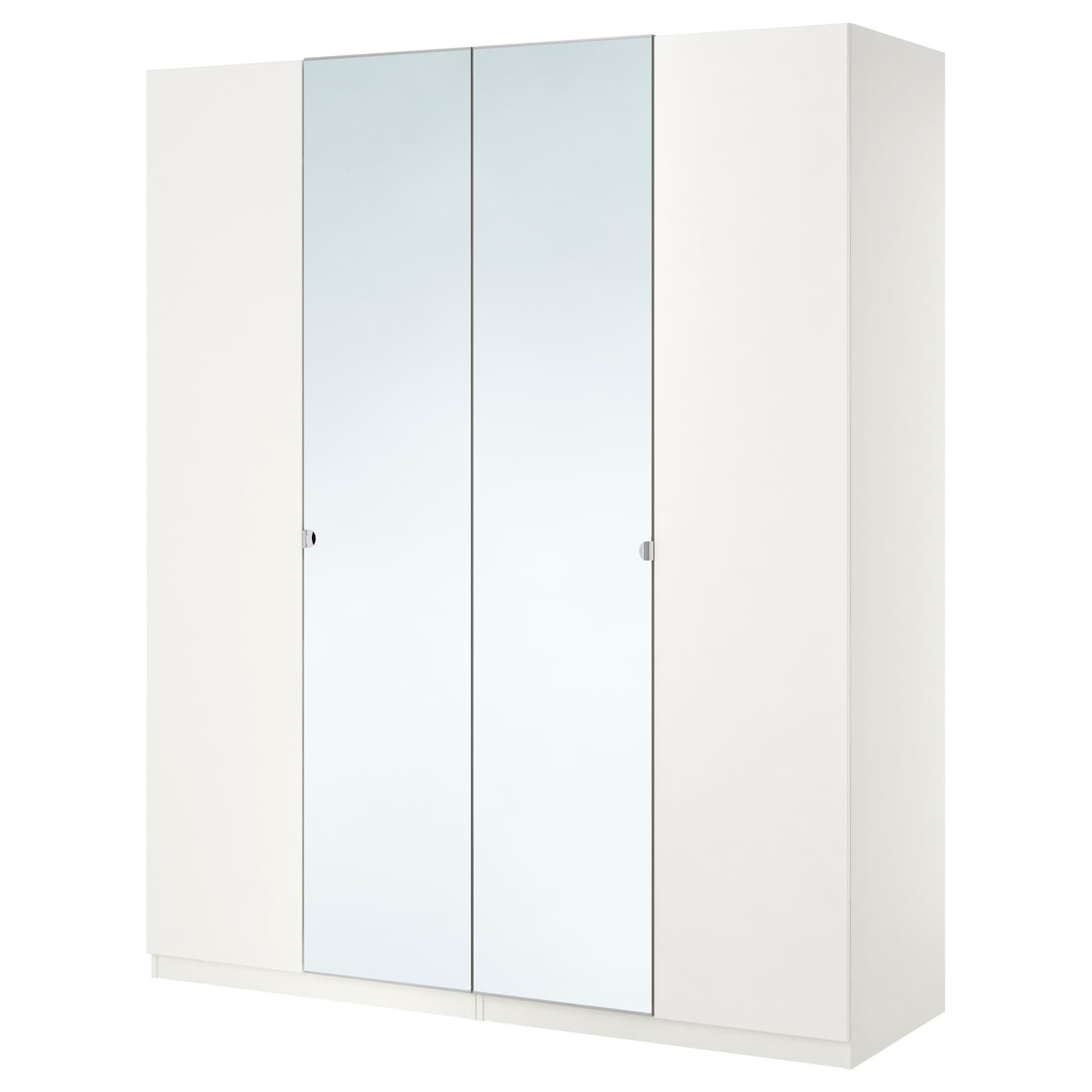pax armoire penderie blanc tanem vikedal 200x60x201 cm ikea. Black Bedroom Furniture Sets. Home Design Ideas