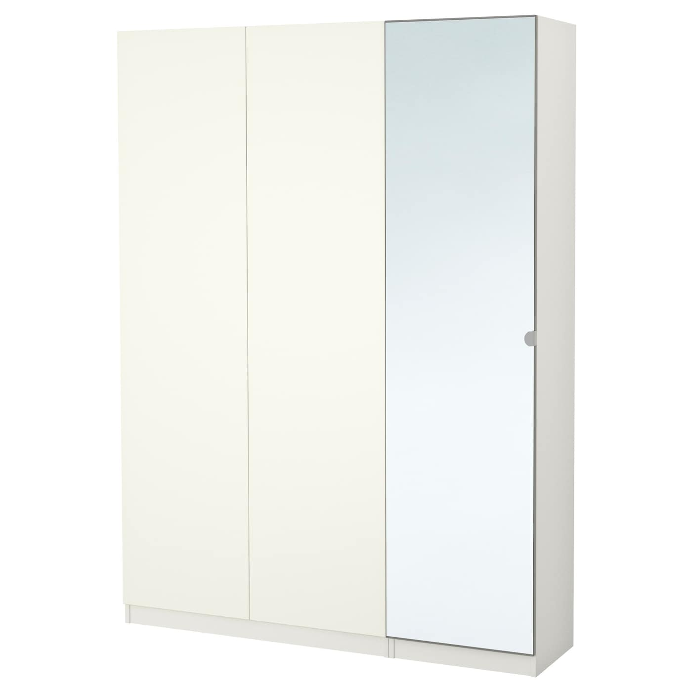 pax armoire penderie blanc tanem vikedal 150x38x201 cm ikea. Black Bedroom Furniture Sets. Home Design Ideas