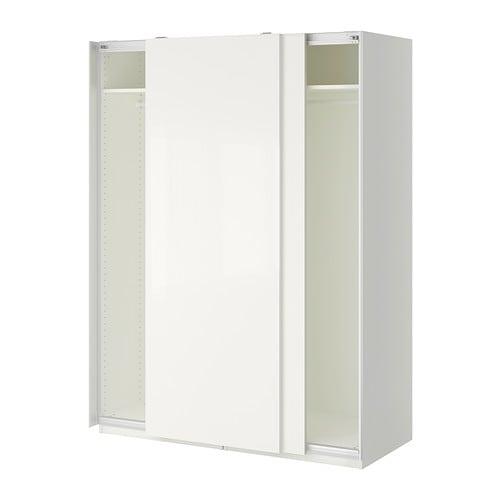 pax armoire penderie 150x66x201 cm ikea. Black Bedroom Furniture Sets. Home Design Ideas